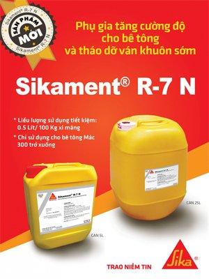 Phụ gia bê tông Sikament R-7 N